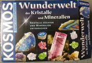 Kosmos Experimentierkasten Kristalle und Mineralien