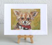 Limitierte FineArt Prints Chihuahua 13x18cm