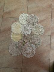 11 Handgefertigte Tischdecke Häkelmuster Baumwolle