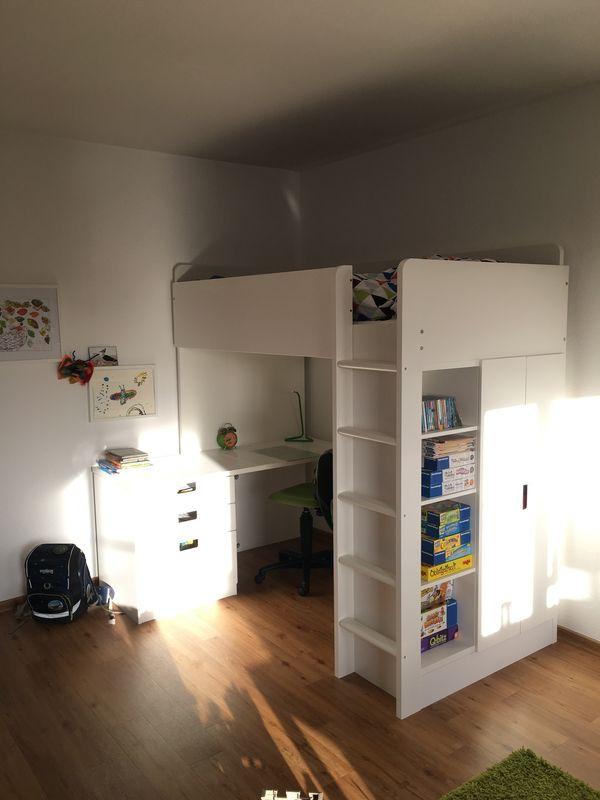 Hochbett Fur Kinder Mit Schreibtisch Arbeitsstuhl In Ludwigshafen