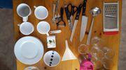 Küchengeschirr -utensilien