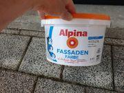 Alpina Fassadenfarbe weiß