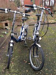 2 Pedelec Flyer Falträder Biketec