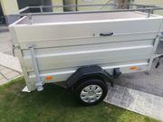 Einachs-Tieflader Aluminium HA mit Koffer