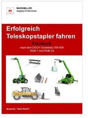 Erfolgreich Teleskopstapler fahren Fachbuch DGUV