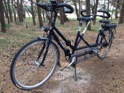 Multicycles tandem electrisch faltbar