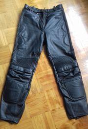 Damen Leder-Motorradhose Größe 36 von