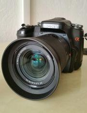 Digitale Sony Spiegelreflexkamera A 100
