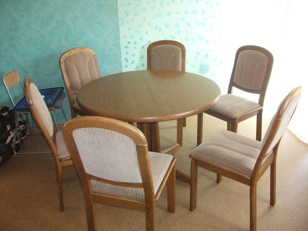 Tisch Rund Massiv