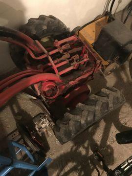 Traktoren, Landwirtschaftliche Fahrzeuge - Aebi AM 70 Einachser zu