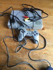 PlayStation mit tekken und Gran