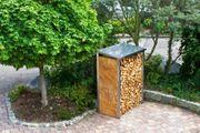 Kaminholzbox Kaminholzregal Holzbox Holzregal