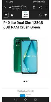 huawei p40 lite grün