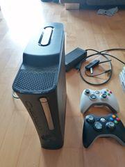 Xbox 360 mit Spielen