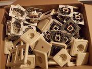 Steckdosen und Schalter-gebraucht- ca 30