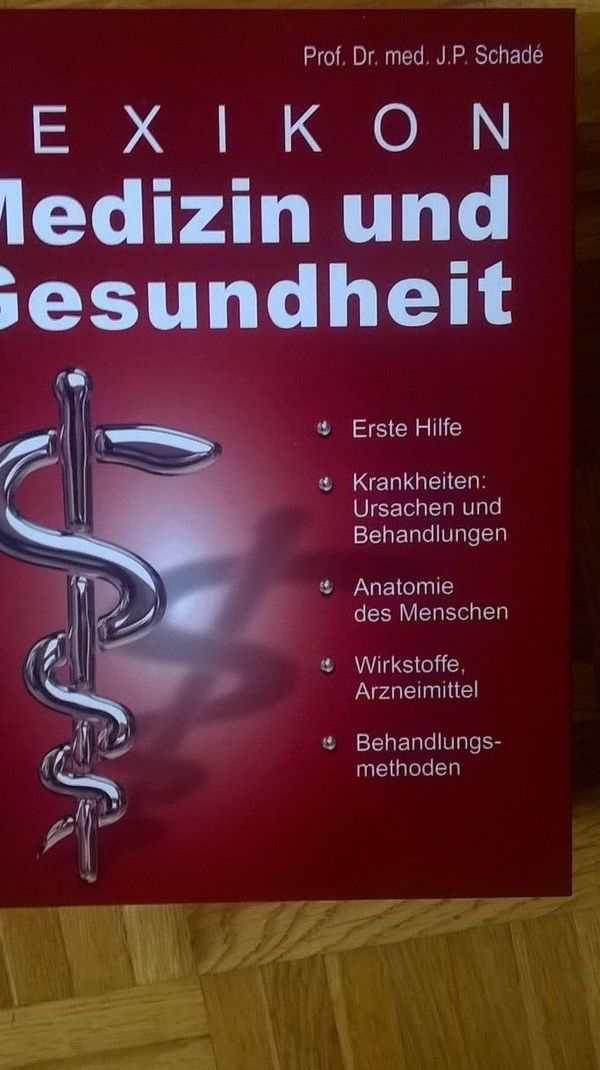 Gesundheitsbuch Medizinbuch Gesundheitslexikon Medizinlexikon
