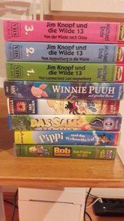 VHS Kassetten zu verschenken