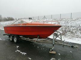 Fjord Sportwing F 19 Motorboot Bastler Boot inkl. Anhänger