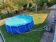 Intex Metall Frame Pool-Aufstellpool Ø