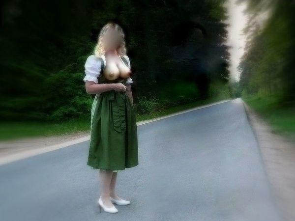 Private Oktoberfest Herrin sucht Voyeure