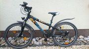 Jungs Mountain Bike mit Scheibenbremse