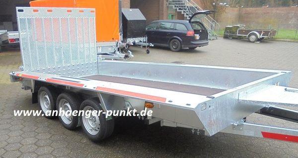 PKW XXL Anhänger 4 m