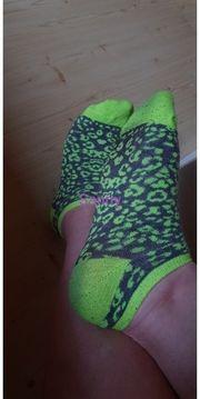 getragene Socken 5 oder 7