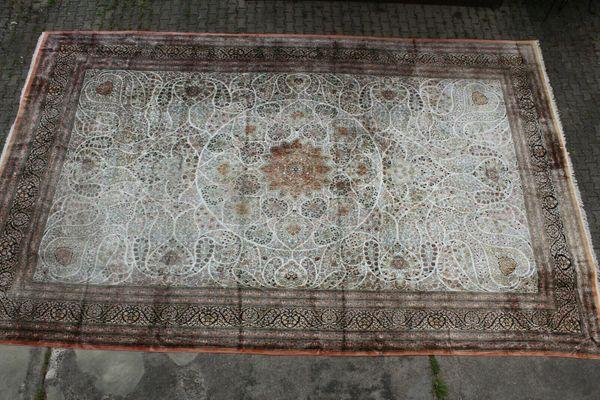 Riesiger Teppich Isfahan Kaschmir 7