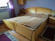 Doppelbett Birke günstig zu verkaufen