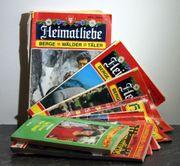 Hunderte Heimatromane Verschiedene Titel unsortiert