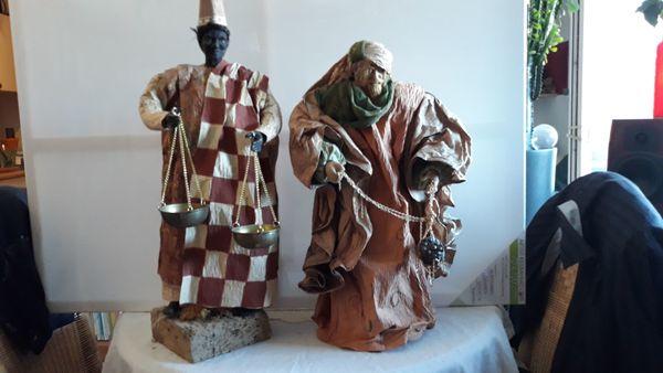 Krippenfiguren 2 Stück