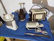 Küchengeräte Mixer Toaster elektr Messer