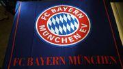 Bayern München Bettwäsche Fahne Partykeller