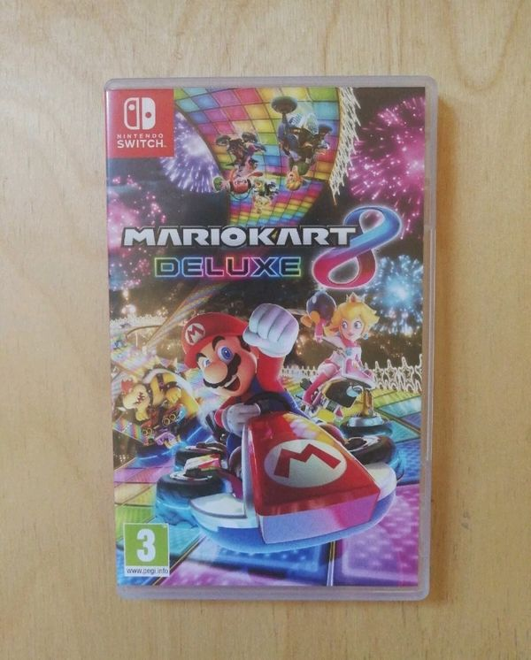 Nintendo switch MarioKart 8