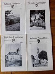 Westricher Heimatblätter 1973 Hefte 1-4