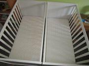 Babybettchen zwei Stück in tadellosem