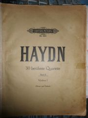 Edition Peters 1918 Haydn Nr