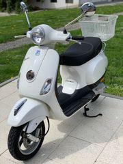 Vespa LX 50 in weiß