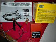 Hella Roller-motorradbatterieladegerät