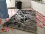 Teppich Design Grau