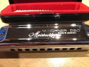 Mundharmonika Hohner 580 Meisterklasse
