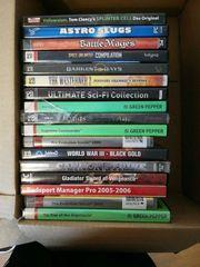PC Spiele Kiste mit 16