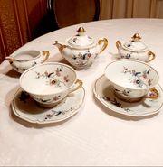 Kaffeeservice Limoges Porzellan für zwei