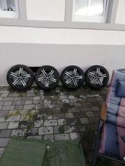 Rial Alu-Felgen mit Bereifung Dunlop