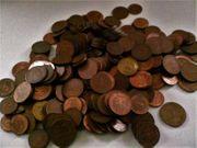 Münzen Pfennige aus der DM