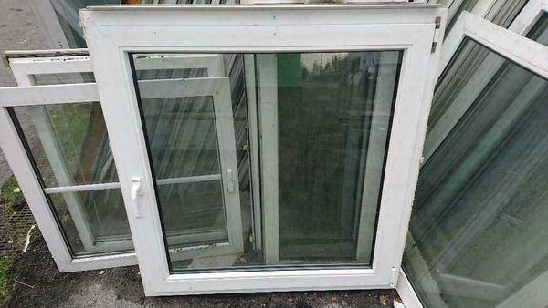 Kunststoff Fenster 112 cm breit