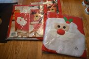 Stuhlhussen weihnachtlich