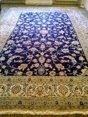 Schönen Teppich Kashmar-Nain mit Echtheitszertifikat