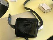 Chanel Gürteltasche Tasche schwrz lack