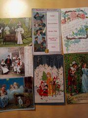 sehr alte Ansichtskarten